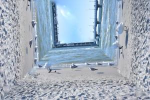 Ostseestrand als Design Objekt