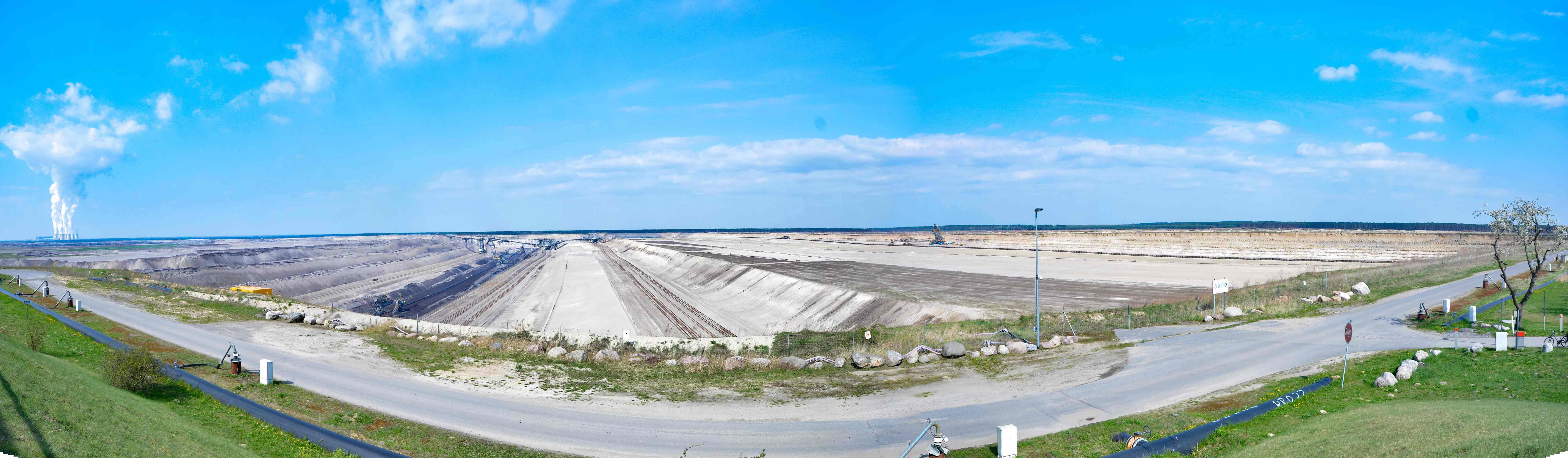 Tagebau panorama