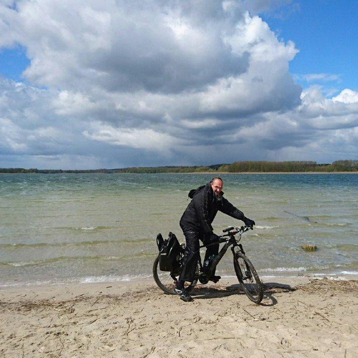 Radtouren im Berliner Umalnd hier am Seddiner See
