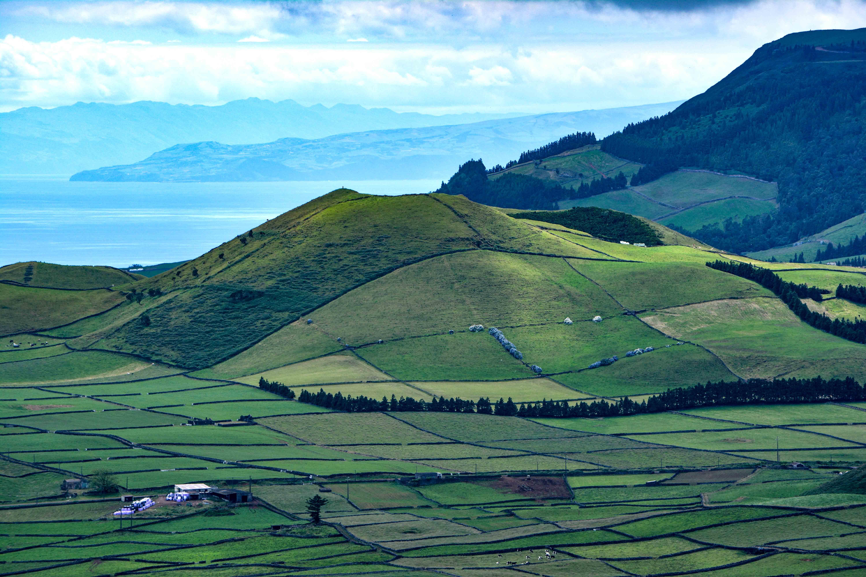 Vulkan auf Terceira