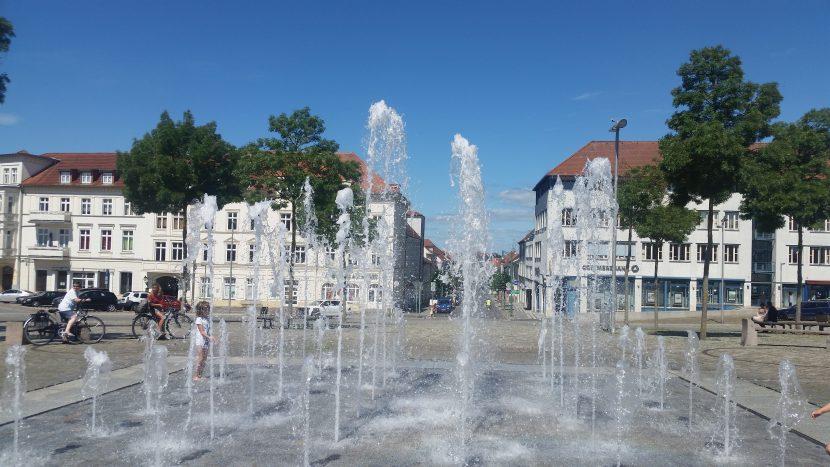 Springbrunnen Neustrehlitz HBF