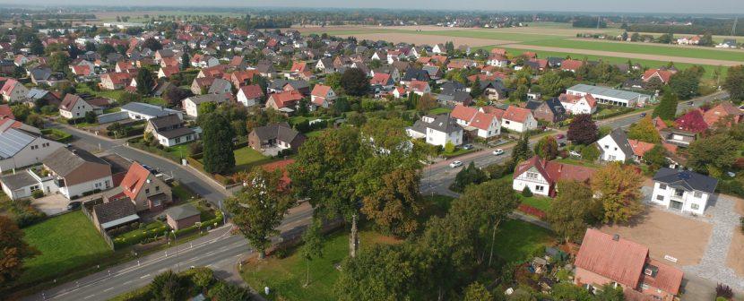 Luftbild von Todtenhausen